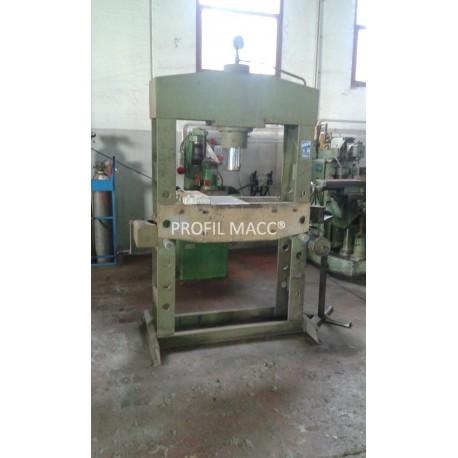 Pressa Idraulica A Colonna Omcn Art 160 100 Ton Profil