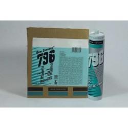 SIGILLANTE SILICONICO NEUTRO PVC LEGNO-METALLI ART. 796 DOW CORNING