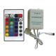CONTROLLER RGB - 12V - 11 FUNZIONI - COMANDO RF 433MHz